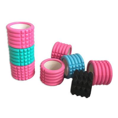 10*14cm Mini High Density custom Grid Hollow Foam Roller
