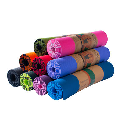 Double Layers TPE Yoga Mat