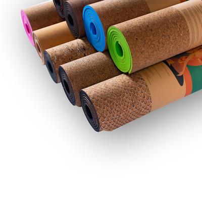 Cork and TPE Yoga Mat