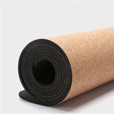 100% Cork and Natural Rubber Yoga Mat