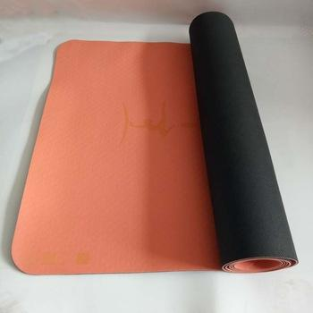 Natural Rubber with TPE Yoga Mat